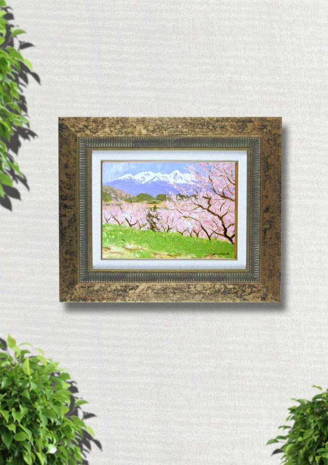 足立一夫「八ヶ岳の春」25